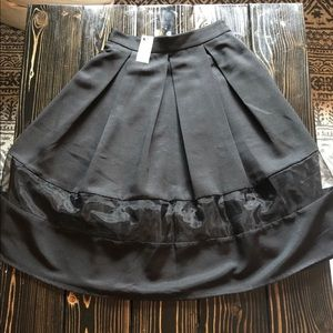 Black Express Skirt